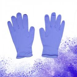 藍色丁晴手套(100隻)