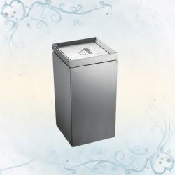 54L不鏽鋼搖蓋垃圾桶