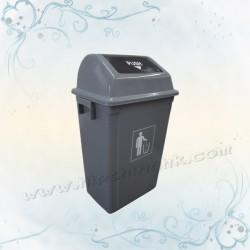60L搖蓋垃圾桶