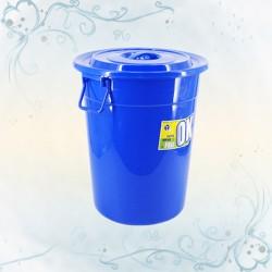 MCB藍色圓形萬用桶連蓋