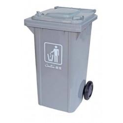 100L兩輪揭蓋垃圾桶