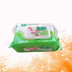 BeBe有蓋包裝濕紙巾(80張)