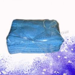 藍色棉質毛巾(12條)