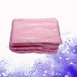 粉紅色棉質毛巾(12條)