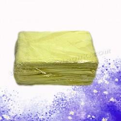 黃色棉質毛巾(12條)