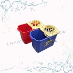 16L地拖桶連水隔(方形)