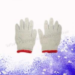 紅邊棉手襪(薄身12對)