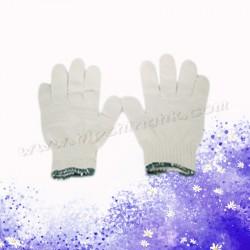 綠邊棉手襪(厚身12對)