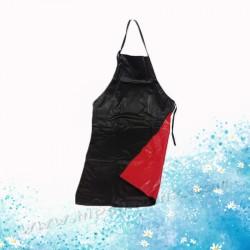紅黑膠圍裙(12件)
