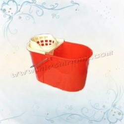10L地拖桶連水隔(圓邊)