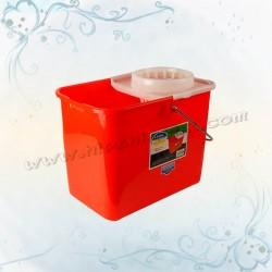 18L地拖桶連水隔(有轆)