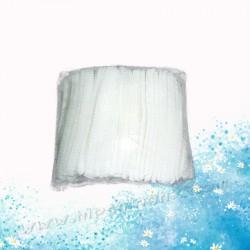 一次性白色不織布帽套(100個)