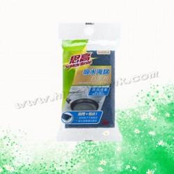 3M綠色防刮吸水海綿百潔布(1件)