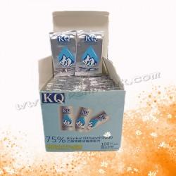 KQ獨立包裝酒精紙巾(100片)