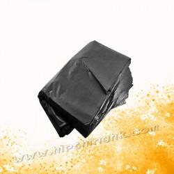 """32"""" x 40""""黑色垃圾袋(100個)0.055"""