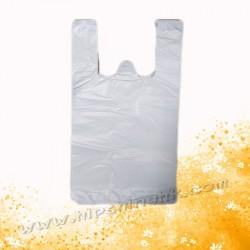 "(8+5)""x16""白色背心袋(100個)"